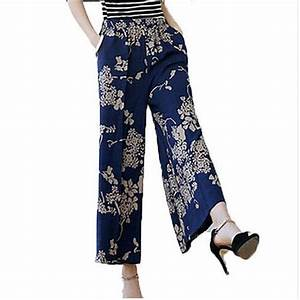summer 2017 new cotton linen pants women middle aged loose ...