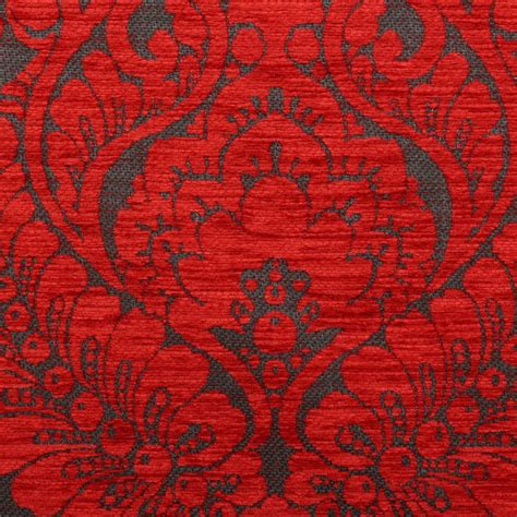 Velvet Upholstery Fabric by Heavy Weight Velvet Floral Chenille Damask Dfs Cushion