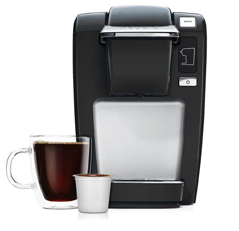 My husband took one look at it and said to me, honey, you know i'm a simple man. Keurig K15 Single Serve Compact K-Cup Pod Coffee Maker Coffee and TEA, Coffee Tools, Coffee ...