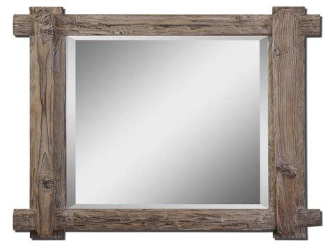 mirrors beveled reclaimed wood mirror rustic wood mirror frames interior designs artflyz com