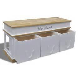 Foyer Bench With Shoe Storage by Vidaxl Co Uk Storage Bench Shoe Cabinet Entryway Bench