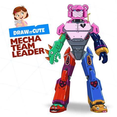 draw mecha team leader fortnite season  draw