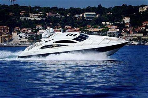 Speed Boat Hire Sardinia by Sunseeker Predator 72 For Rent Poltu Quatu Italy For