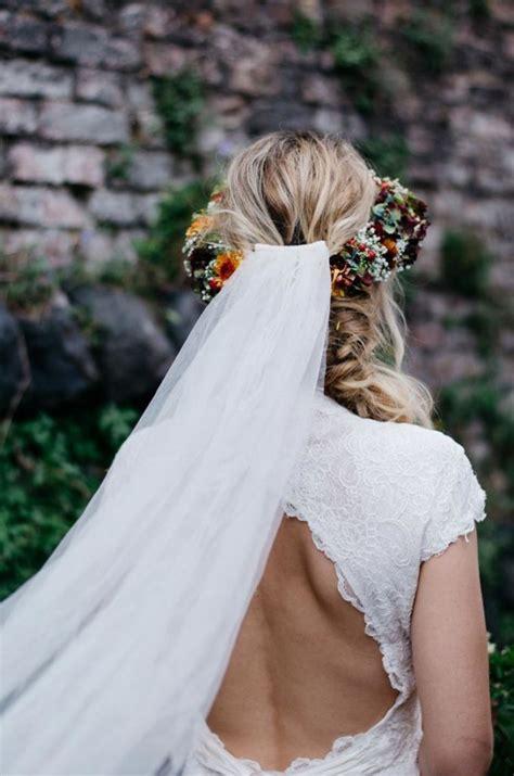 long veil  open  wedding hochzeit frisuren
