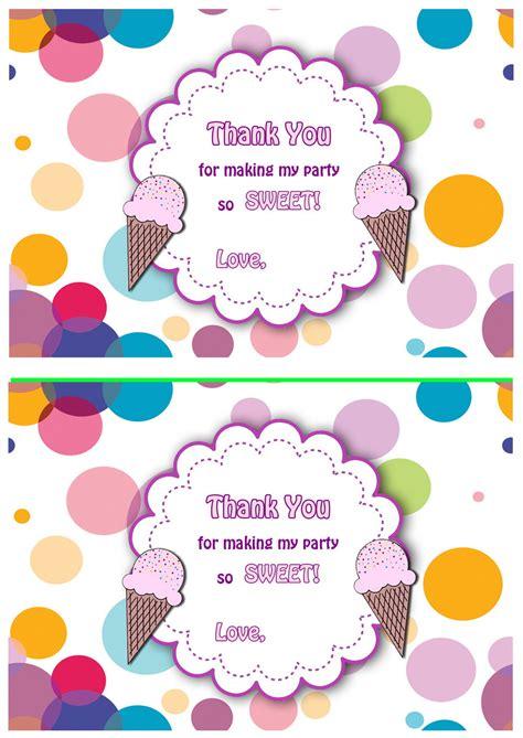 ice cream   cards birthday printable