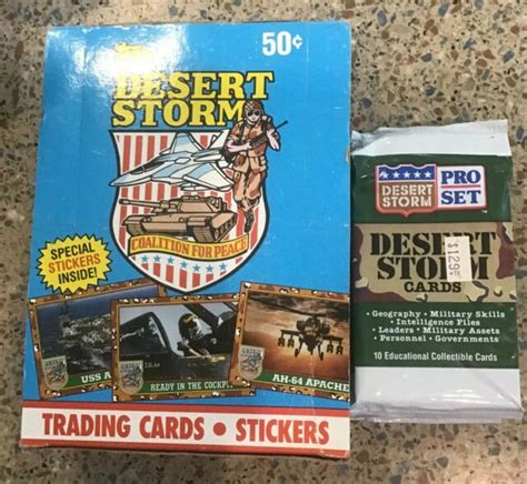And as some one else mentioned, becket price guide really did change everything. 1991 Topps Desert Storm Trading Card 36ct Cards Victory Series Plus 88 Set for sale online | eBay