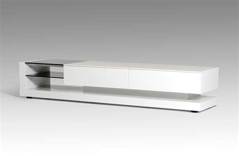 Mid Century Modern Living Room Modrest Mali Modern White Tv Stand