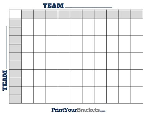 football squares template printable ncaa football bcs squares 50 grid office pool nfl