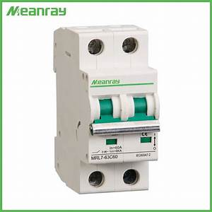 China Meanray Single Phase Types Circuit Protector 250v