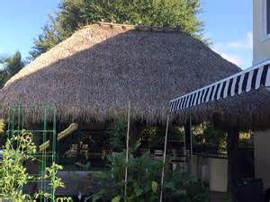 Tiki Hut Roof Replacement