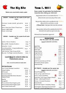 new healthy menu canteen crusade iquest With canteen menu template