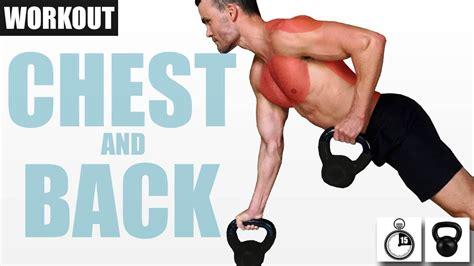 kettlebell workout chest quick