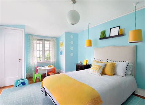 Bedroom Yellow And Blue by Blue Yellow Bedrooms Inspiring Bedroom