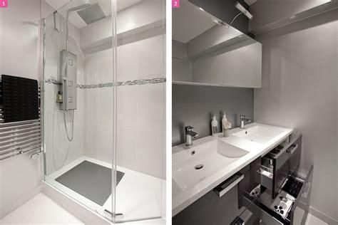Avant-après : une salle de bains lumineuse et