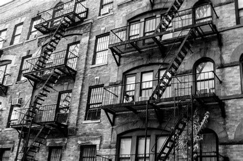 images man black  white architecture road street window escape building city