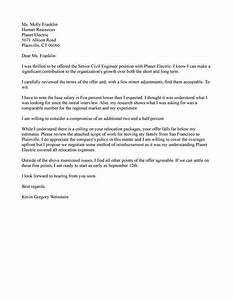 Counter Offer Job Letter Samples  Resume Help