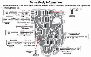 Valve Body Diagram Jf015e