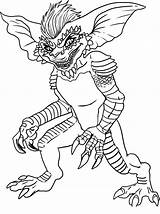 Coloring Pages Ghostbusters Print Draw Gremlins sketch template