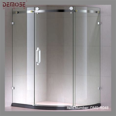 Curved Shower Door by Curved Sliding Glass Frameless Shower Door Buy Frameless