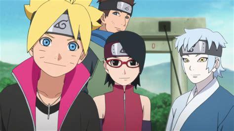 Konohamaru, Boruto, Sarada And Mitsuki    Team Konohamaru
