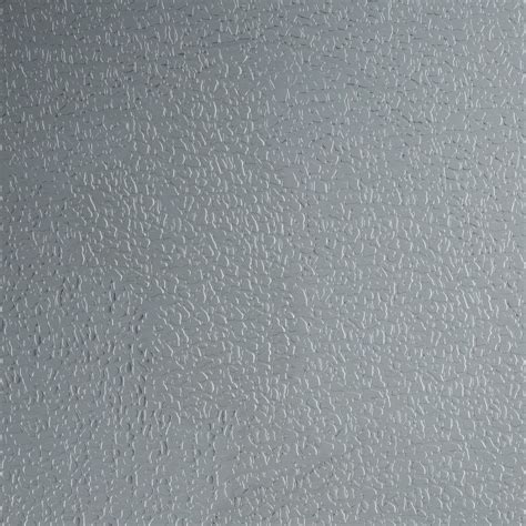 Leather textured stainless steel sheet, protected by a film
