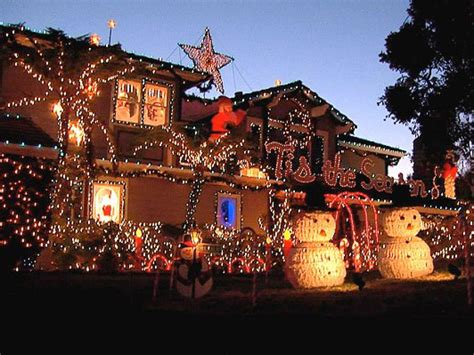 big lotsoutdoor christmas lighting deck the house with lots of lights hgtv
