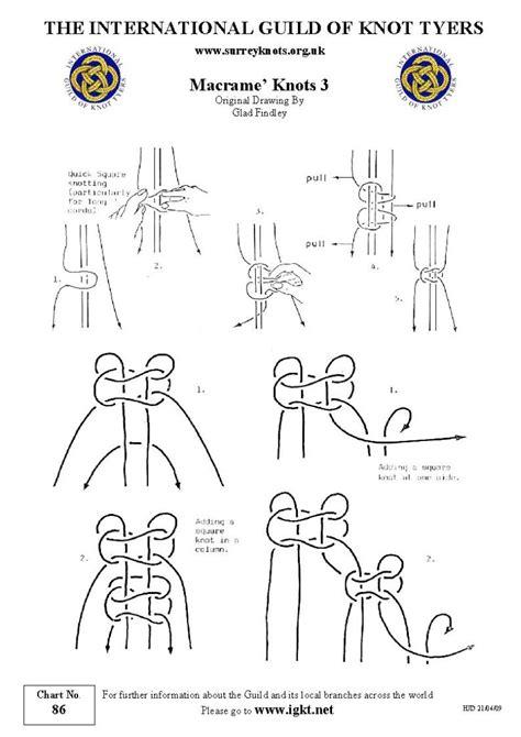 macrame knots 1000 images about macrame knots ply split braiding kumhimo wires on pinterest macrame