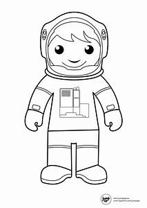 Astronaut Coloring Pages - Bestofcoloring.com