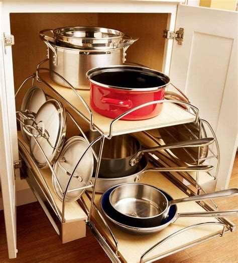 kitchen storage cabinets for pots and pans kraftmaid kitchen innovations pgt cabinets