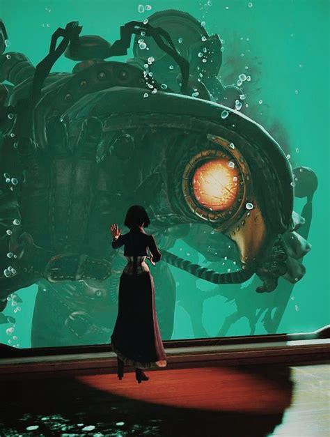 Elizabeth And Songbird Bioshock Infinite Game