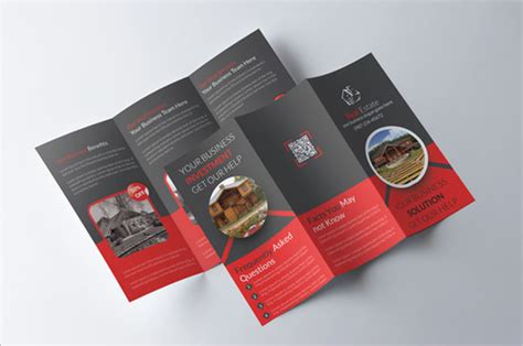 Real Estate Tri Fold Brochure Template by 20 Real Estate Brochures Free Psd Eps Word Pdf