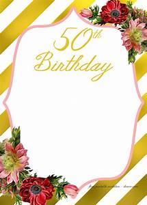 Create A Birthday Invitation For Free Free Printable Birthday Invitation Template Free