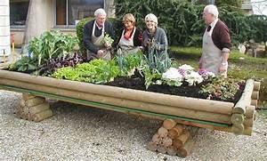 Mini Potager En Bois : potager bois jardinou maxi 4m ~ Premium-room.com Idées de Décoration
