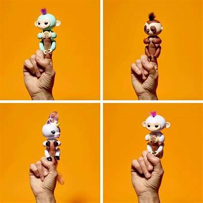 Toy Monkey Fingerling Grip Finger Rare Caught