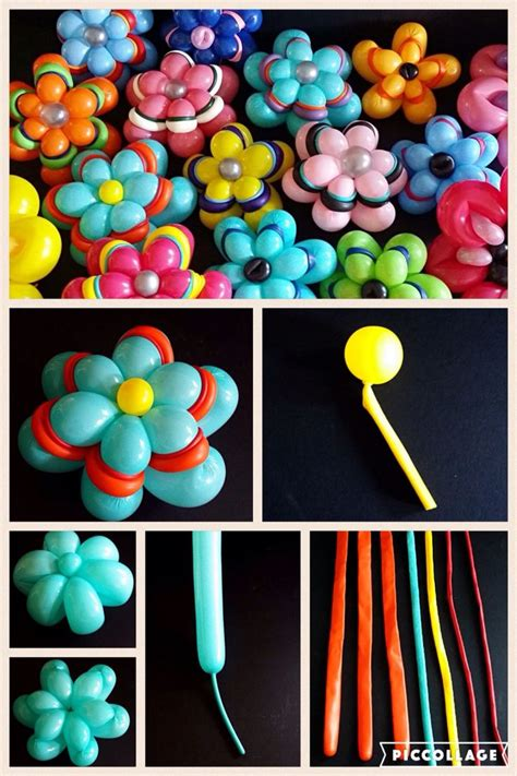 balloon flowers ideas  pinterest balloon show