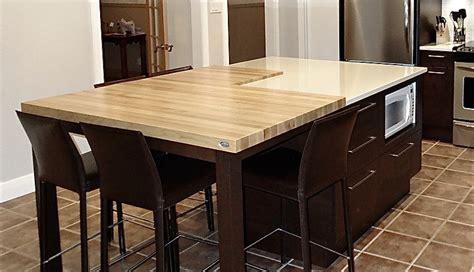 ilot table cuisine ilot table cuisine ilot central cuisine moderne hotte et
