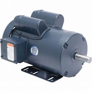 Leeson Woodworking Electric Motor — 3 HP, 3450 RPM, 230