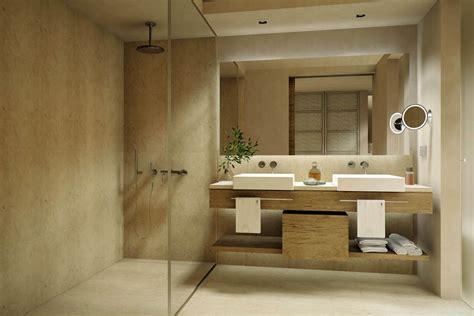 si鑒e pour salle de bain salle de bain moderne en bois très nature meuble et décoration marseille mobilier design contemporain mobilier marseille