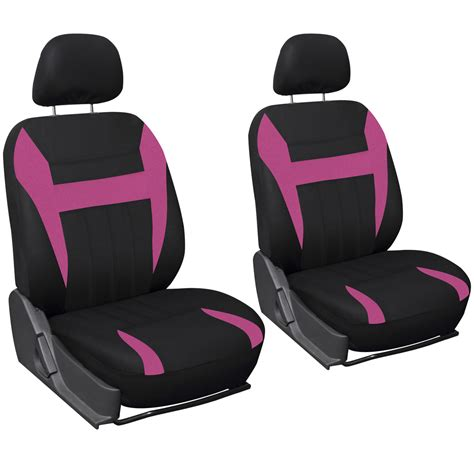 pink and black car seat 17pc set pink auto seat covers steering wheel belt pads