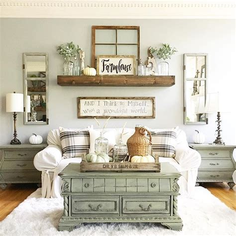 Rustic Living Room Wall Decor Ideas by 25 Best Ideas About Living Room Green On Pinterest