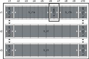 Floor Plan Of The Parking Garage  Basement Level