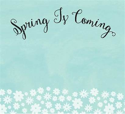 Spring Coming Fun Card Cards Events Ecards