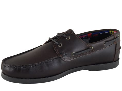 Best Boat Shoes For The Money by Mens Chestnut Leather Boat Shoe Wide Fit