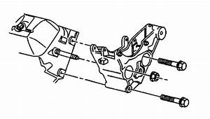 Chevy Power Steering Pump Bracket Diagram
