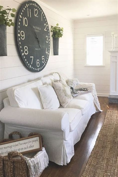 Country Living Room Clocks by Farmhouse Living Rooms Modern Farmhouse Living Room
