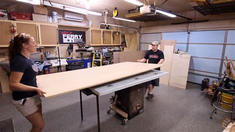 shop table   sheet  plywood jays custom creations