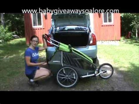 croozer kid 2 how to fit a croozer kid for 2 in small trunk