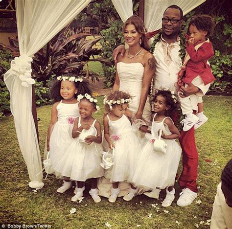 Bobby Brown Wedding Day Photos Missing Bobbi Kristina