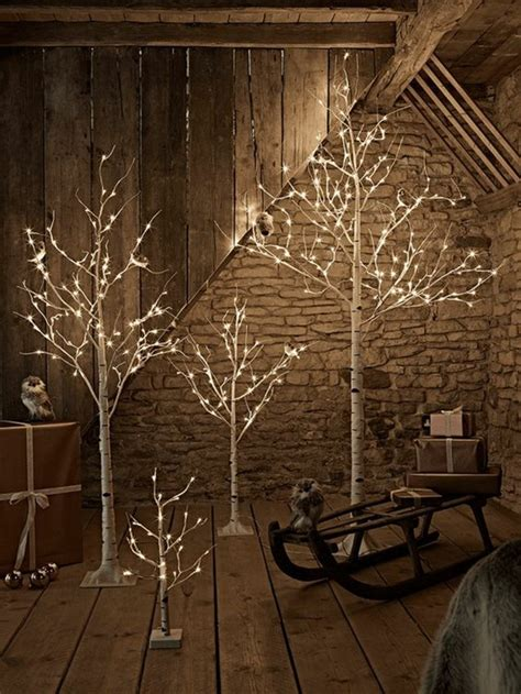 light up outdoor trees christmas christmas decorations with lights for a warmer atmosphere