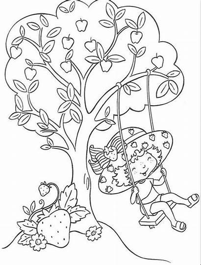 Colorear Fresa Tarta Dibujos Imprimir